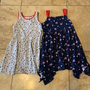 Fourth of July, Red/White/Blue Dresses Girls
